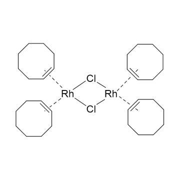 CAS:12279-09-3|双环辛烯氯化铑二聚体|98%|600200-250mg|0-4°C