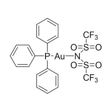 CAS:866395-16-6|三苯基膦金(I)双(三氟甲磺酰基)亚胺盐|98%|600019-1g