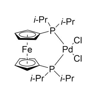CAS:215788-65-1|1,1'-双(二异丙基膦基)二茂铁二氯化钯|98%|600102-250mg