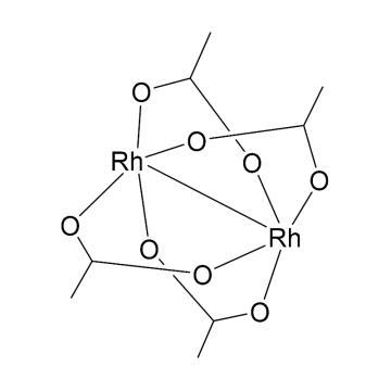 CAS:15956-28-2|二聚醋酸铑|98%|600188-500mg