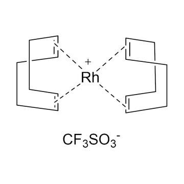 CAS:99326-34-8|双(1,5-环辛二烯)-三氟甲磺酸铑|98%|600197-500mg|0-4°C