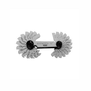 VOGEL 螺纹规,公制60°0.25-6mm,24Pcs