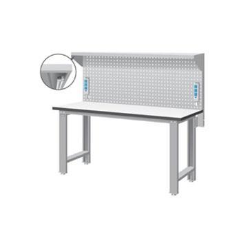 天钢 标准型工作桌,宽深高(mm):1407*1800*785 带挂板 桌面承重(kg):500,WB-67F16 不含安装费