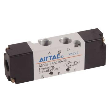 亚德客AirTAC 气控阀,2位5通双气控,4A120-M5