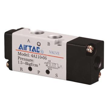 亚德客AirTAC 气控阀,2位5通单气控,4A110-M5