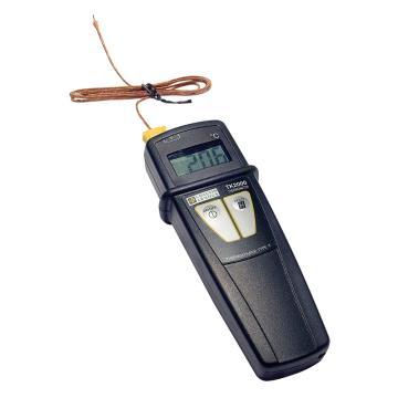 CHAUVIN ARNOUX/CA 接触式测温仪,单通道,IP65,配1个可伸缩式K型热电偶,TK2000