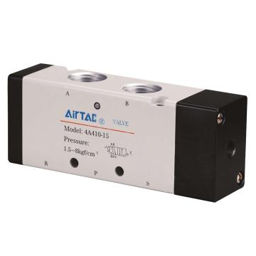 """亚德客AirTAC 二位五通单气控阀,PT1/2"""",4A410-15"""