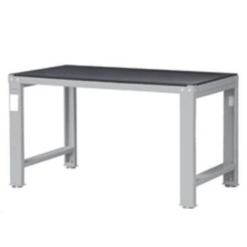 天钢 钢制工作桌,高H*宽W*深D(mm):810*1520*771,桌面:10mm黑色橡胶垫+钢板,桌面平均承重(kg):1000,WD-58P