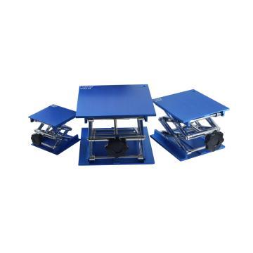 实验室升降台,铝氧化,200×200×300mm,1台