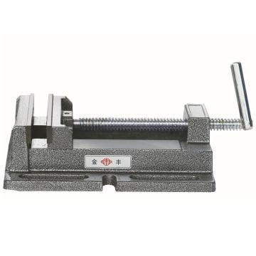 金丰 钻床平口钳Q195A,钳口开度128mm