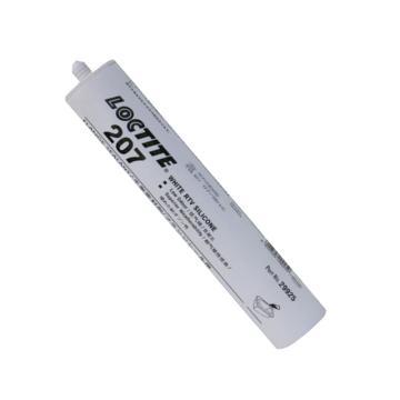 乐泰 平面 密封胶,Loctite 207通用型 白色 硅橡胶,300ml