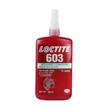 乐泰 圆柱 固持胶,Loctite 603 耐油型,250ml