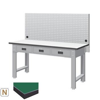 天钢 标准型工作桌,宽深高(mm):1407*1500*785 带挂板 承重(kg):500,WBT-5203N12 不含安装费