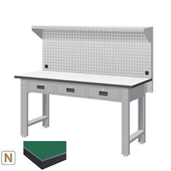 天钢 标准型工作桌,宽深高(mm):1407*1500*785 带挂板 承重(kg):500,WBT-5203N13 不含安装费