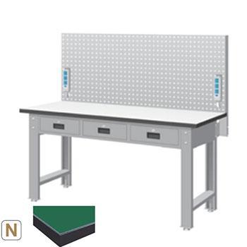 天钢 标准型工作桌,宽深高(mm):1407*1500*785 带挂板 承重(kg):500,WBT-5203N14 不含安装费