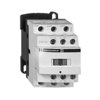 施耐德 TeSys D系列控制继电器,24V,DC,3NO+2NC,CAD32BDC