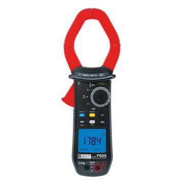 CHAUVIN ARNOUX/CA F605功率钳形表,交直流,真有效值,钳口直径60mm,谐波,相序