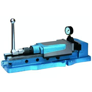 金丰 液压增力平口钳Q52150,钳口开度320mm