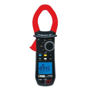CHAUVIN ARNOUX/CA F405功率钳形表,交直流,真有效值,钳口直径48mm,谐波,相序