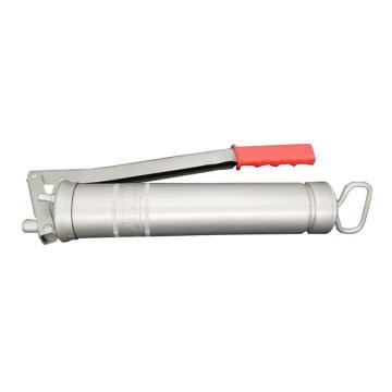MATO 3042004 全鋼壓桿式黃油槍,含注油嘴和放氣閥,不帶附件,螺紋M10x1,容量400g油脂桶