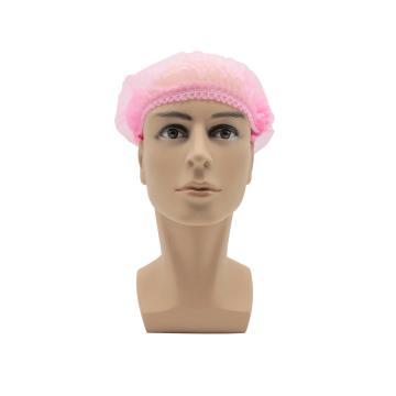 无纺布条形帽,粉色,21英寸,L码,100个/包