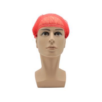 无纺布条形帽,红色,20英寸,M码,100个/包