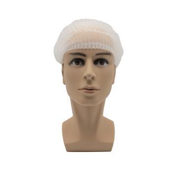 无纺布条形帽,白色,20英寸,M码,100个/包