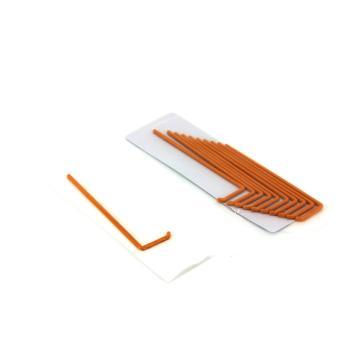 L型细胞涂布棒,橘色,灭菌,144×33.2mm,100支/盒