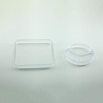 塑料培养皿,130×130mm,方型,50个/包