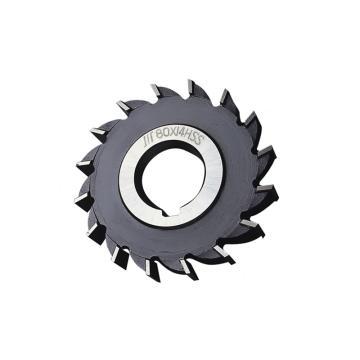 成量 三面刃銑刀,直齒型,100×20
