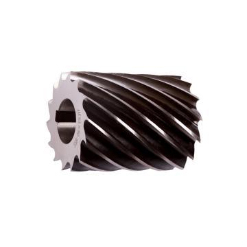 成量 圆柱形铣刀,粗齿型,50×80