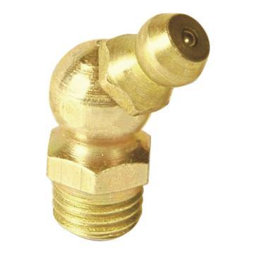 MATO 3282608 塔形45°油嘴,螺纹M6,优质钢镀锌,100pcs/盒