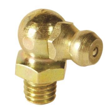 MATO 3283605 塔形90°油嘴,螺纹M6,优质钢镀锌,100pcs/盒