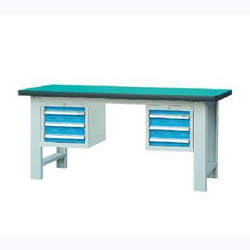 锐德 50mm复合桌面双吊3抽柜重型工作桌, 1800W*750D*800H 载重:1000kg,不含安装费,安装费请另询