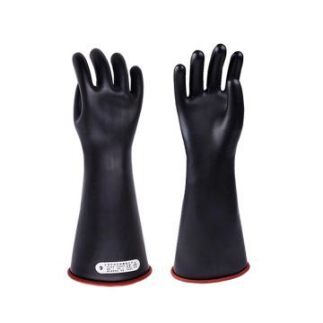 双安 绝缘手套,乳胶10KV绝缘手套 9