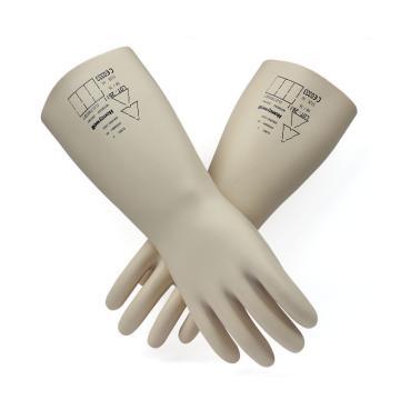 霍尼韦尔Honeywell 绝缘手套,2091903-09,工作电压500V(进口产品货期不稳,下单请咨询)