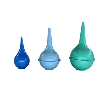 PVC洗耳球,绿色,30ml,10个/盒