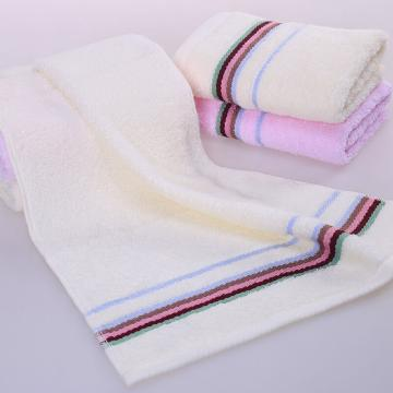 素色缎档毛巾 70*34cm 75g