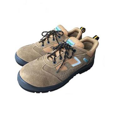 EHS 低帮运动款安全鞋,ESS1621-43(售完即止),防砸防静电 土黄色