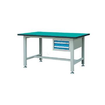 锐德 30mm复合桌面含2抽屉吊柜轻型工作桌,1500W*750D*800H 载重:300kg,RDL1502AZ 不含安装费