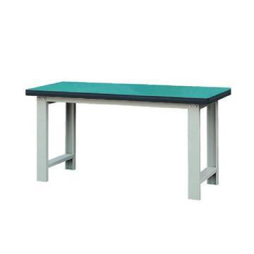 50mm复合桌面重型工作桌, 1500W*750D*800H 载重:1000kg