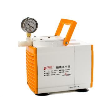 隔膜真空泵,GM-0.33A(防腐),津腾