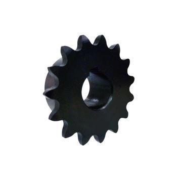 正盟  40B碳钢链轮 发黑型  轴孔加工完成  DLB40B10-N-17