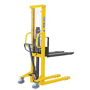 手动液压堆高车(固定式货叉),额定载荷(t):1.5,起升高度(mm):1600