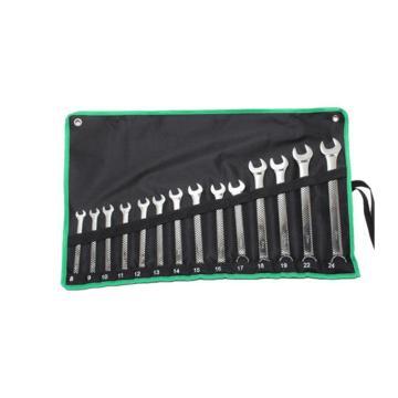 宝工  14件套两用扳手组, (公制),HW-6514B