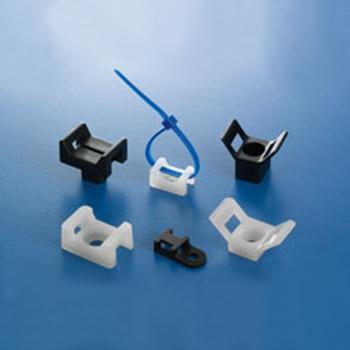 扎线固定座,线宽5.4,固定孔4.2 100个/包