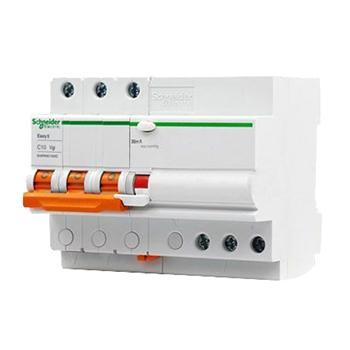 施耐德Schneider Easy9微型漏电保护断路器 3P C20A/30mA/AC,EA9RN3C2030CNEW