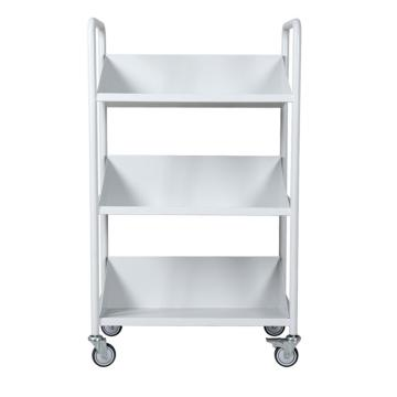 燮晨 办公、图书用推车,尺寸(mm)长宽高:650*370*1080 层间距(mm):310,RCA-3S-LIB05
