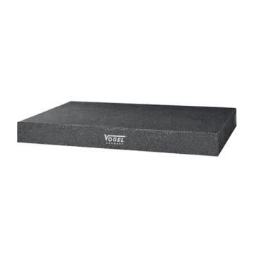沃戈耳 VOGEL 花岗岩平台,400×400×60mm(1级),26 02622,不含第三方检测