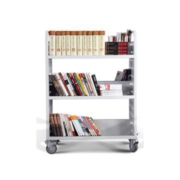 办公、图书用推车,尺寸(mm)长宽高:850*500*1150,层间距(mm):350